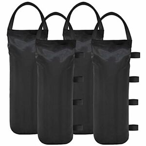 Canopy Tent Weights Leg Sand Bags Ez Pop Up Outdoor 112 LBS Patio Anchor 4 Pack