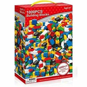 1000 Piece Building Bricks Blocks Build Construction Toy Compatible Play Set