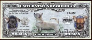 CHIHUAHUA 🐶 Certificate Million 🐶💶 Fantasy Note 🐶Buy More Save More