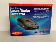 Text Display Laser / Radar Detector Whistler 975