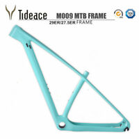 Custom Color 29er Carbon Fiber Mountain MTB Bike Frames PF30 Bicycle Frameset