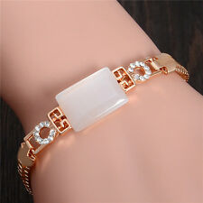 Fashion Nice Austrian Crystal Opal 18K gold Plated Women's Adjustable Bracelet