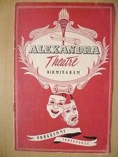 Alexandra Theatre B'ham- FULL HOUSE by Ivor Novello
