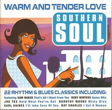 Various Artists - Warm and Tender Love Southern Soul      CD !!! NEU !!!
