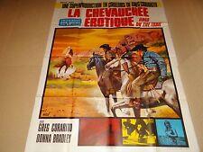 LA CHEVAUCHEE EROTIQUE ! affiche cinema western