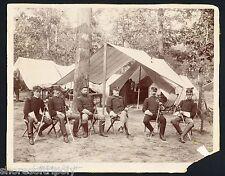 COL. GRIGSBY COWBOYS ~ ANDERSONVILLE POW CIVIL WAR SOLDIER ~OTTO~ ORIGINAL PHOTO