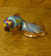 Oriental Figurine  #SO26140D TROPICAL FISH, NEW from our Retail Store, Mint.Box