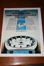 AA3=1972=LONGINES OROLOGIO=PUBBLICITA'=ADVERTISING=WERBUNG=