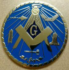Freemason Masonic Working Tools Car Emblem