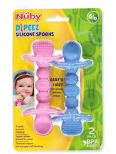 Nuby 2-Pack Dipeez Silicone Spoons