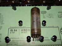 E-Röhre Valvo EL 84 Tube 24 mA Valve auf Funke W19 geprüft BL1625