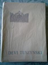 TUSZYNSKI Devi, 21 miniatures, Caractère 1955, envoi autographe, EO
