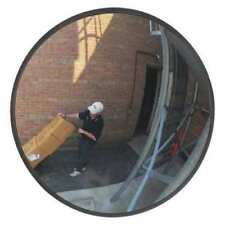 """Indoor Glass Convex Security Mirror Surveillance Safety 18"""" Made In The Usa New"""