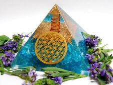 Organite Pyramid Orgone Pyramid EMF Protection Crystal Healing Energy Orgone