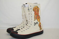 CONVERSE CHUCKS ALL STAR HIGH Gr.39,5 UK.6,5 Sailor Jerry DEATH OR GLORY PINUP