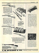 1957 ADVERT Daisy Pop Um Gun Scarbard Double Barrel Cork Shotgun Carbine Gallery