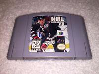 NHL Breakaway 98 (Nintendo 64, 1998) N64 Hockey Game Cartridge Excellent