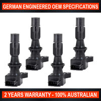 4 x Ignition Coil for Ford Escape 2.3L for Mazda 3 6 CX7 MX5 Tribute 2.0L 2.3L
