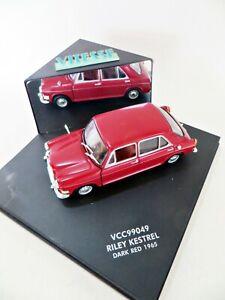 VITESSE VCC99049 '1965 RILEY KESTRAL - DARK RED'. 1:43. MIB/BOXED. HARD TO FIND.