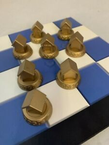 The Dog Artist Collection Chess Set Replacement Pieces Preowned
