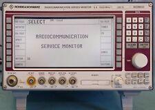 Rohde & Schwarz CMS 50 SSB Radiocommunication Tester R&S CMS50