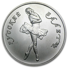 1/2 oz Russian Palladium Ballerina Coin - Random Year - SKU #70533