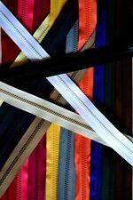 2 Wege Jackenreißversluss  Krampe 6 mm 9 Farben 10 Längen 40-100cm