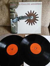 """SUCCESSES DEL ARGENTINE FOLKLORE 2 X LP VINYL 12"""" VG/VG 1972 CAFRUNE GATEFOL"""