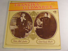 FRANK SINATRA & DUKE ELLINGTON Francis A & Edward K Ex+ Reprise LP