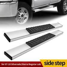 6 Running Board For 07 19 Chevy Silveradosierra Regular Cab Nerf Bar Side Step