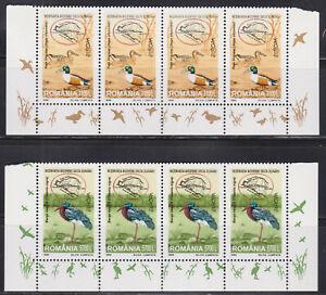 Romania 4 mint sets - Birds, Europa CEPT 1999 MNH