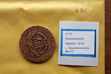 MEDAGLIA  TRANSEUROPE WAGON LITS GIANDOMENICO  (M431
