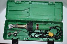 Leister Triac S Plastic Welder Heat Gun Ch 6060 120 Volt 1600 Watts With Case