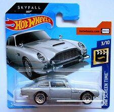HOT WHEELS ASTON MARTIN 1963 DB5 HW SCREEN TIME Mattel [W11]
