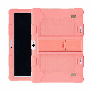"""For 10.1"""" Inch Android Tablet Pc Shockproof Silicone Cases Covers Plain Skin USA"""