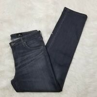 AG Adriano Goldschmied Jeans Womens Size 30 The Prima Mid Rise Cigarette Gray