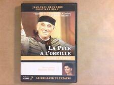 DVD THEATRE / LA PUCE A L'OREILLE / JEAN PAUL BELMONDO / EXCELLENT ETAT