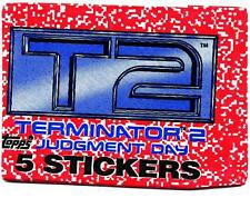 Terminator 2 Judgment Day Trading Sticker Pack