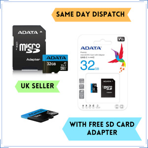 ADATA 32GB Premier Class 10 Micro SD Card for AMAZON Fire 7 Kids Edition Tablet