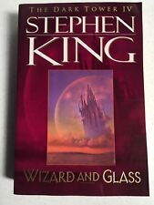The Dark Tower 4: Wizard and Glass by Stephen King, First Plume Edition, SC - NM