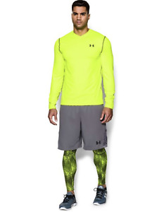 Under Armour ColdGear Infrared Long Sleeve Fitted V-Neck Shirt Top M NWT/DEFECT