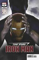 TONY STARK IRON MAN #5 LEGACY HORN VARIANT MARVEL COMICS 2018 1ST PRNT