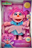 Sesame Street Abby Cadaby Limited Edition Plush 1 Of 3000 Collection Gift