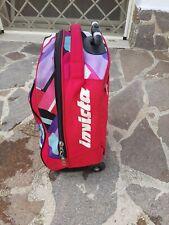 Zaino trolley invicta scuola rosa e viola con ruote