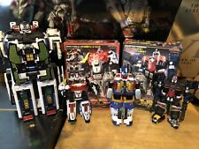 Power Rangers Deluxe SPD Megazord Lot: Command, Omega, Squad and SWAT.