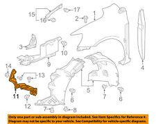 Chevrolet GM OEM 12-18 Sonic Fender-Air Guide Right 95351686