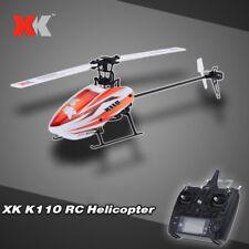 Original XK Blast K110 6CH 3D 6G System Brushless Motor RTF RC Helicopter S2S6
