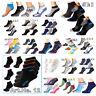! Sneakersocken Herren  Damen Sneaker Kurzsocken Sport Socken Füßlinge 43 Sorten