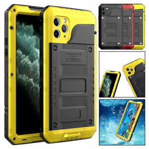 For iPhone 11 Pro Max XR XS X Waterproof Shockproof Heavy Duty Tough Hard Case