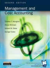 Management and Cost Accounting, 2nd Ed.,Charles T. Horngren, Alnoor Bhimani, Sr